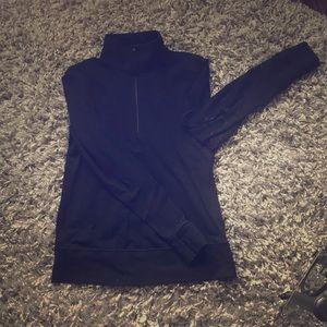 Lulu Lemon black pullover jacket.